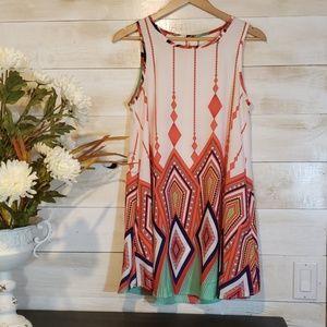 Multi color pocket dress